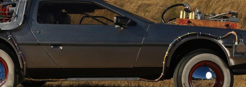 BTTF3 DeLorean