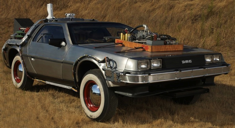 BTTF3 DeLorean